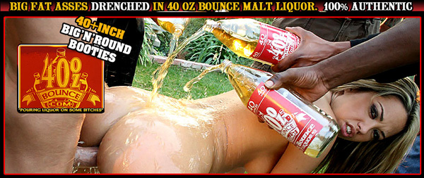 40ozbounce.com promo banner with Jenny